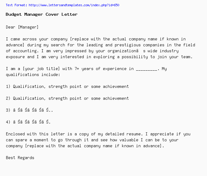 Best Cover Letter For Job Application from www.lettersandtemplates.com